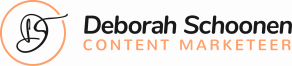 Volledig logo Deborah Schoonen Content Marketeer