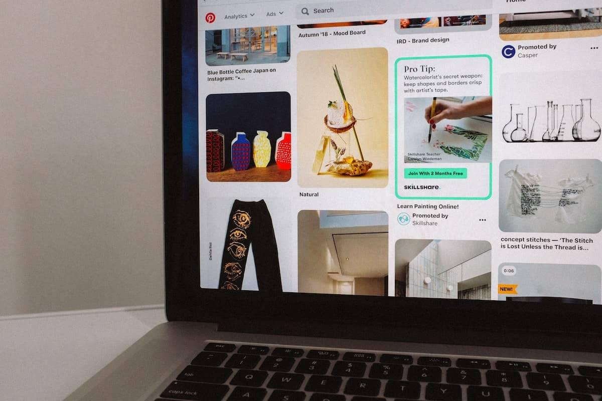 Pinterest online marketing